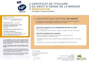 certificat rge nf habitat